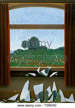 La clef des champs - The key of the fields 1936 by René Magritte born 1898 was a Belgian Surrealist artist. (Belgium) - Stock Image