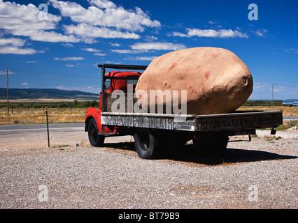 Idaho large spud truck - Stock Image