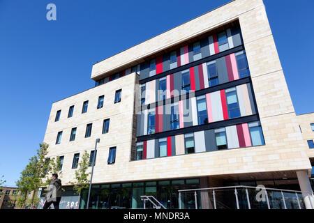 The David Hockney Building at Bradford College, Bradford, West Yorkshire - Stock Image