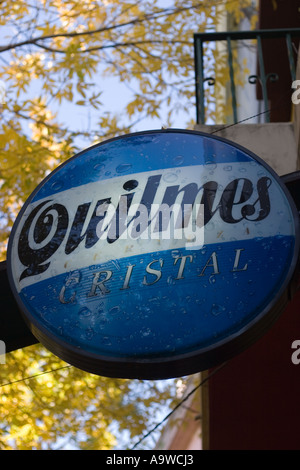 Quilmes sign - Stock Image