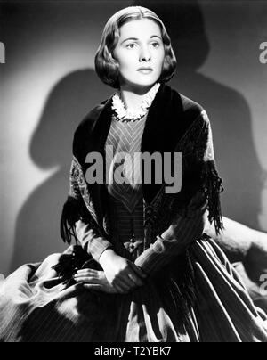 JOAN FONTAINE, JANE EYRE, 1943 - Stock Image