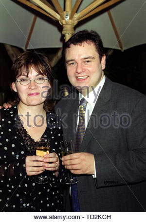 File photo dated 28/11/00 of Lorraine Kelly and Eamonn Holmes. Rumours of a feud between Kelly and Conservative leadership hopeful Esther McVey have swirled after Kelly appeared to 'snub' her former colleague live on air on Monday, when the politician was a guest on ITV's Good Morning Britain. - Stock Image