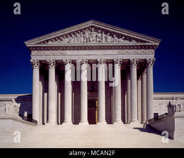 Supreme Court of the United States - Stock Image