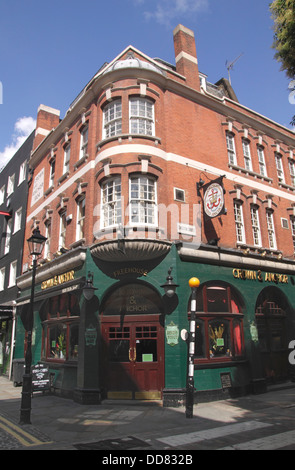 Crown and Anchor Pub Shelton street Covent Garden London - Stock Image