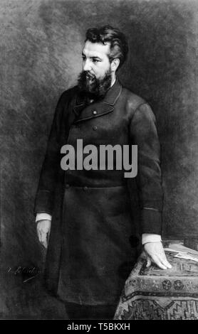 Alexander Graham Bell (1847-1922), portrait, before 1914 - Stock Image