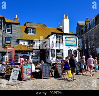 The sloop inn,St Ives,Cornwall,England,UK - Stock Image