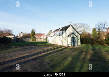 Catholic church of St Vincent De Paul, Ditton Lane, Fen Ditton, Cambridge, Cambridgeshire, England, December 2018 - Stock Image