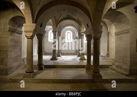 Catacombs of the Grossmuenster Minster, Zurich, Switzerland, Europe - Stock Image