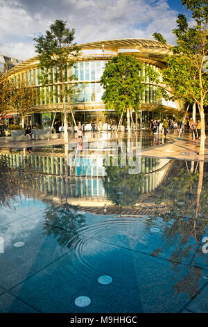 PARIS, FRANCE, SEPTEMBER 17 2017. Forum des Halles, big modern shopping mall in the heart of Paris. - Stock Image