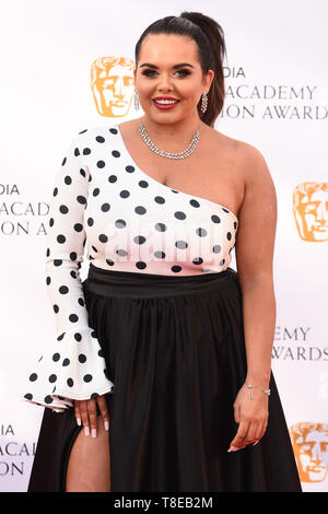 London, UK. 12th May, 2019. LONDON, UK. May 12, 2019: Scarlett Moffat arriving for the BAFTA TV Awards 2019 at the Royal Festival Hall, London. Picture: Steve Vas/Featureflash Credit: Paul Smith/Alamy Live News - Stock Image