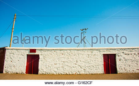 Arbroath, Scotland, UK. 9th May 2016. UK Weather, Sunshine in Scotland, Arbroath FC, Queens Drive Turnstile Entrance, - Stock Image