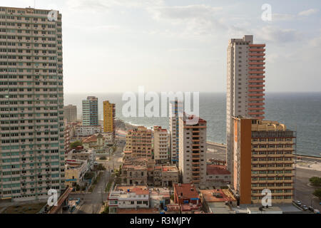 Cuba, Havana. View of the city and Havana Harbor. Credit as: Wendy Kaveney / Jaynes Gallery / DanitaDelimont.com - Stock Image