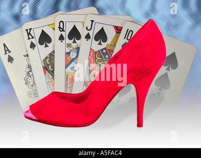 Luck be my Lady Tonight - Stock Image