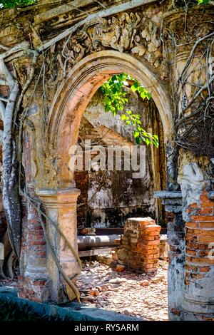 Vietnam, province of Tien Giang,Temple of Dinh Tan Dong - Stock Image