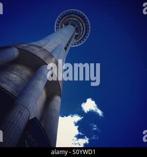 Auckland sky tower - Stock Image