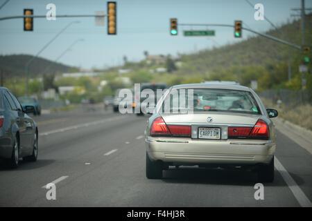 American road trip - Stock Image