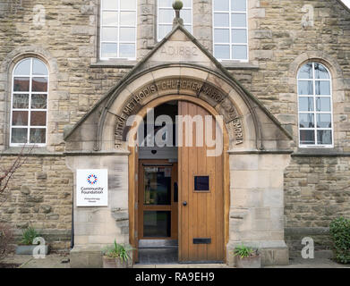 Community Foundation building,  Philanthropy House, in Gosforth, Newcastle, north east England, UK - Stock Image