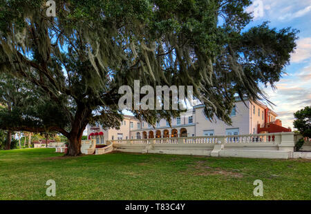 Capernaum Lakeside Lodge also Capernaum Inn Retreat Center built in 1925 in Lake Wales Polk County Floridda in the United States - Stock Image