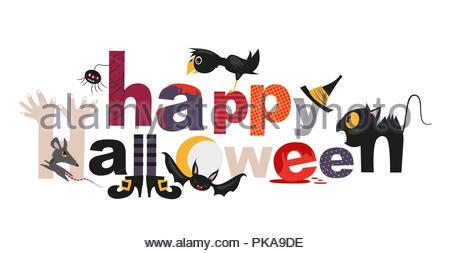 Happy Halloween - Stock Image