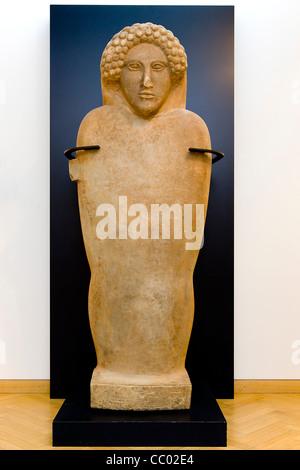 Sarcophagus from Antarados - Stock Image