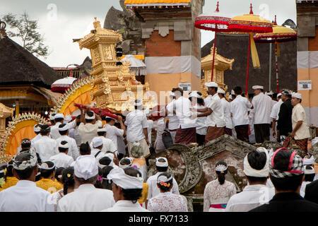 Temple Ceremony in Bali - Stock Image