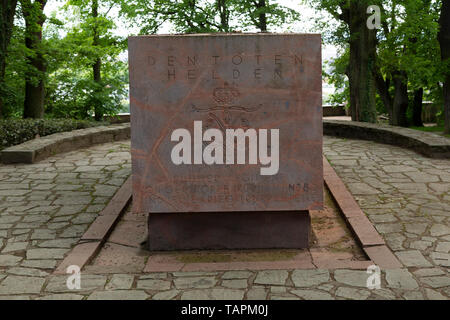 War Memorial in Wiesbaden, the state capital of Hesse, Germany. The monument on the Neroberg pays tribute to the fallen of World War One. - Stock Image