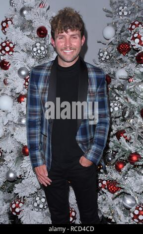 Winter Wonderland 2018 at Botanical Gardens in the Bronx NYC  Featuring: Timo Rissanen Where: NYC, New York, United States When: 14 Dec 2018 Credit: Patricia Schlein/WENN.com - Stock Image
