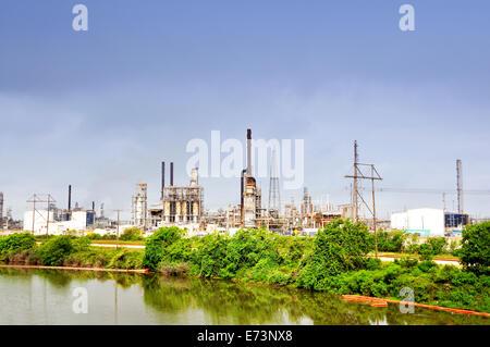 Texas City refinery in Texas City, Texas, USA - Stock Image