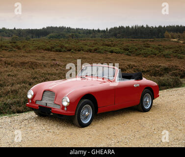 1952 Aston Martin DB2 3 0 litre drophead coupe Light alloy bodywork Country of origin United Kingdom - Stock Image