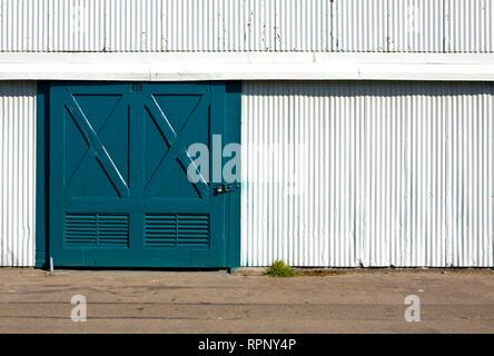Warehouse Doors - Stock Image