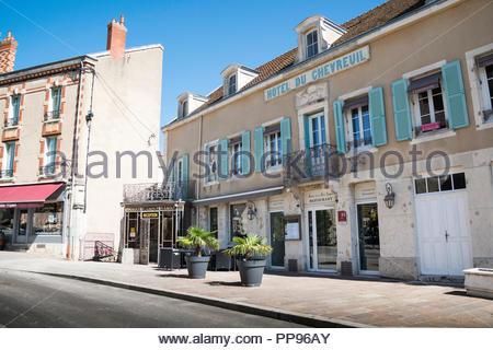 Hotel Le Chevreuil, Meursault, Burgundy, France - Stock Image