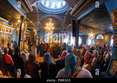 Church of Saint Andrew in Istanbul. Karakoy - Stock Image