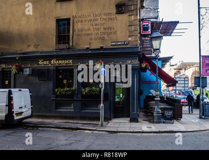 The Garrick bar in Belfast - Stock Image