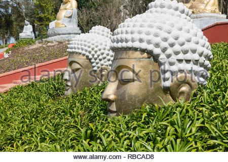Quinta dos Loridos, Buddha Eden garden, Bombarrel, Portugal - Stock Image