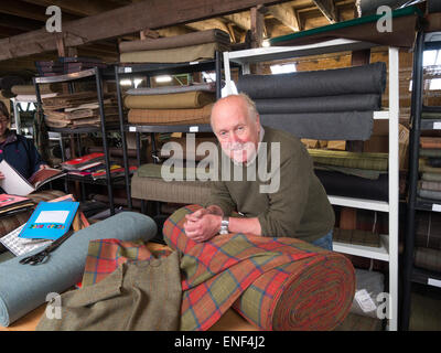 Gordon Covell, Islay Woollen Mill Scotland - Stock Image
