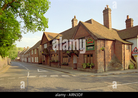 The Kings Arms, Amersham, Buckinghamshire, UK - Stock Image