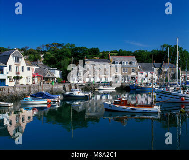 Padstow harbour, Cornwall, England UK - Stock Image