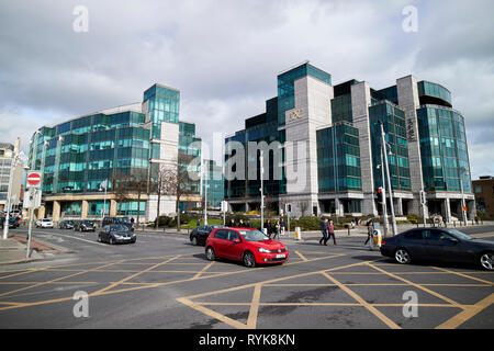 IFSC building Dublin republic of Ireland - Stock Image