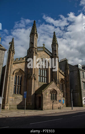 St. Andrews Cathedral, Aberdeen, Scotland, UK. Designed and built by Archibald Simpson in 1817. The cathedral is were Samuel Seabury was ordained. - Stock Image