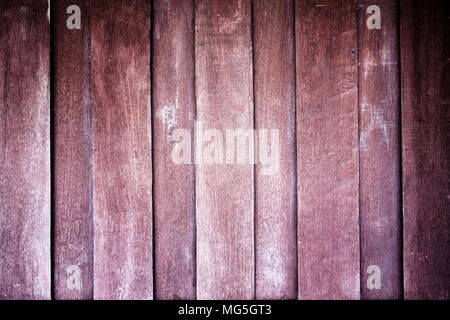 Old Wooden House Wall Texture Background. - Stock Image