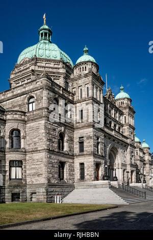 Government building_Victoria - Stock Image