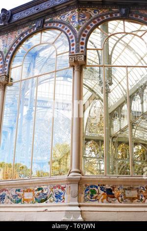 crystal palace - Stock Image