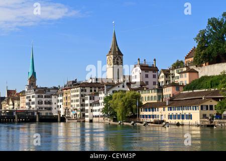 Zurich Cityscape, Switzerland - Stock Image