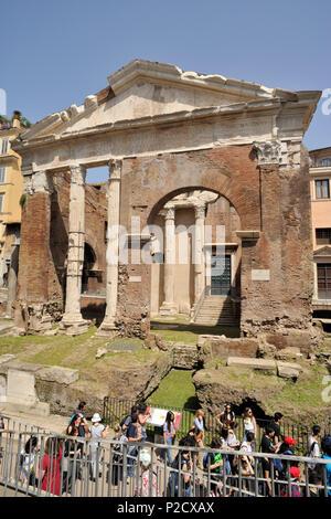 italy, rome, portico d'ottavia - Stock Image