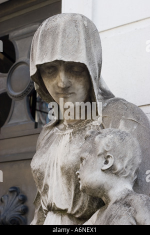 Mother and Child (Recoleta) - Stock Image