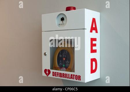 HeartSine Samaritan PAD Emergency Defibrillator - Stock Image
