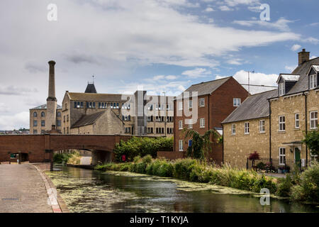 Stroud District Council, a former mill, Gloucestershire, UK - Stock Image