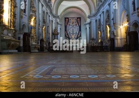 Ornate church interior - Stock Image
