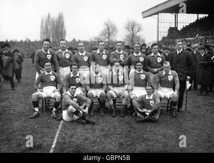Rugby Union - Five Nations Championship - England v Ireland - Twickenham - Stock Image