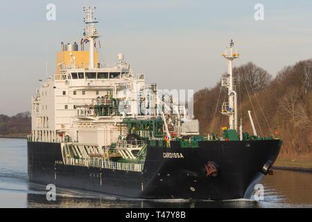 LNG Tanker Cardissa - Stock Image